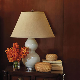Blanc de Chine Double Gourd Lamp