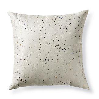 Metallic Splatter Pillow by Porta Forma