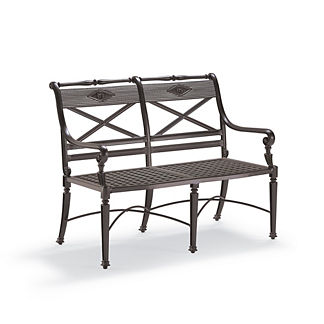 Carlisle Bench in Slate Finish
