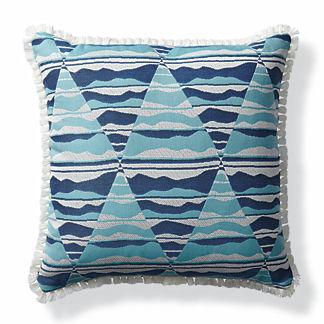 Arizona Sunrise Santorini Outdoor Lumbar Pillow