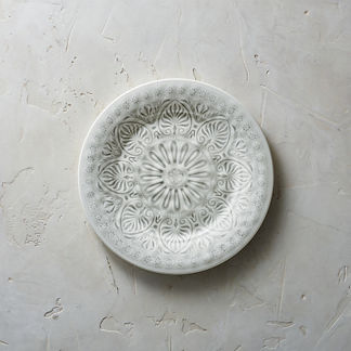 Ibiza Melamine Dinner Plates, Set of Four