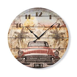 Classic Car Outdoor Clock