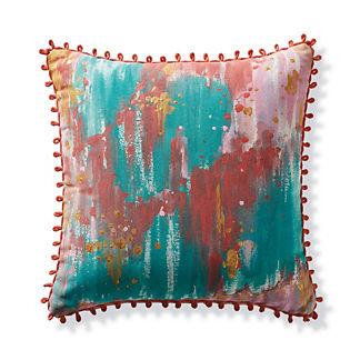 Tropical Splatter Outdoor Pillow