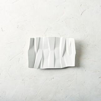 Matrix Porcelain Serving Tray by Porta Forma