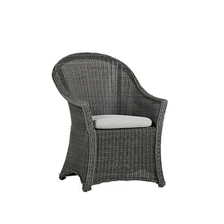 Regent Dining Arm Chair with Cushions by Summer Classics