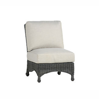 Regent Slipper Chair with Cushion by Summer Classics