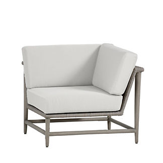Wind Corner Chair with Cushions by Summer Classics