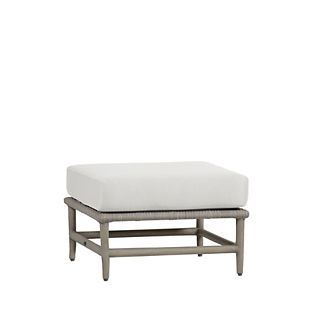 Wind Sectional Ottoman with Cushion by Summer Classics