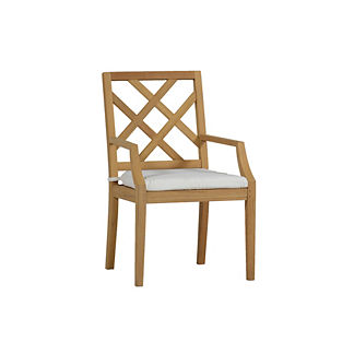 Haley Arm Chair with Cushion by Summer Classics