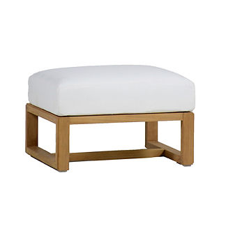 Avondale Ottoman with Cushion by Summer Classics