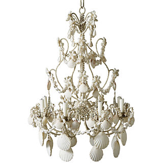 Highland Shell Chandelier
