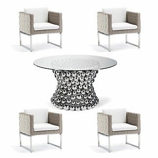 Luciano 5-pc. Dining Set