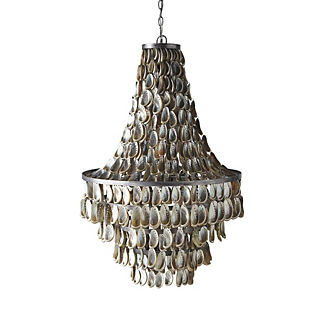 Orca Abalone Chandelier