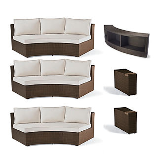 Pasadena 5-pc. Sofa Set with Console Table