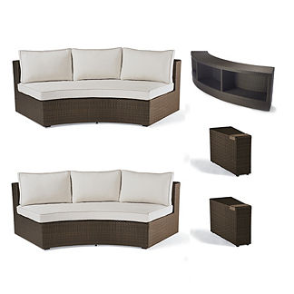 Pasadena 4-pc. Sofa Set with Console Table