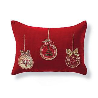 Ornaments Lumbar Pillow Cover