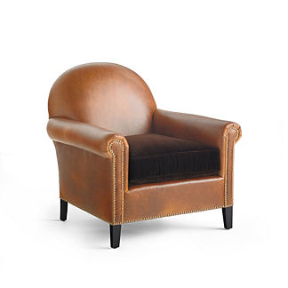 Bergman Upholstered Chair by Martyn Lawrence Bullard