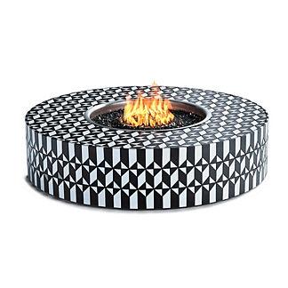 Arcadia Mosaic Tile Fire Table by Martyn Lawrence Bullard