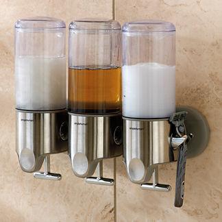 simplehuman Triple Shower Dispenser