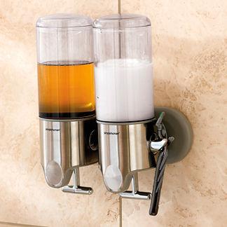 simplehuman Twin Shower Dispenser