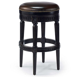 Manchester Swivel Bar Height Backless Bar Stool (30