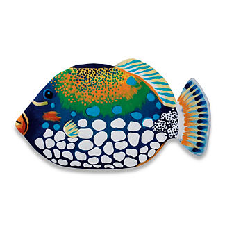 Blue Triggerfish Mat