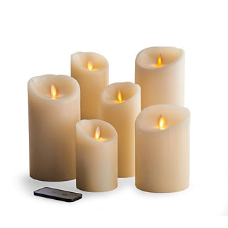 Battery-operated Dream Candles with Remote Control