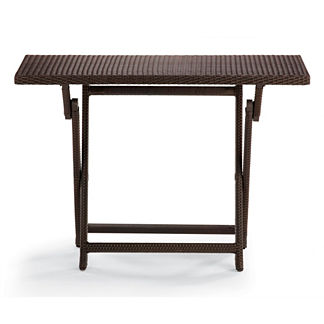 Cafe Counter Height Folding Table
