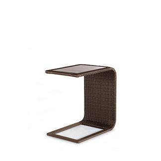 Palermo Glass-overlay Slider Table
