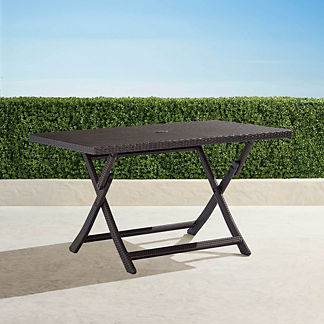 Cafe Rectangular Folding Table