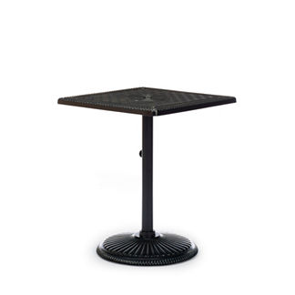 Carlisle Square Cast-top Balcony Table in Onyx Finish