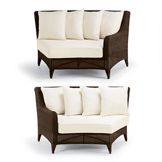 Monterey Two-piece Curved Sofa Cushions