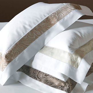 Amalfi Pillow Sham with Frame