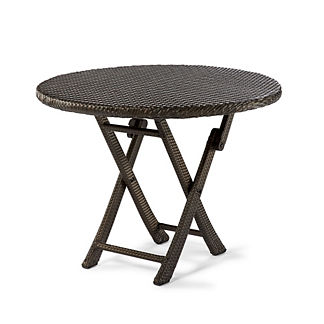 Round Cafe Folding Table