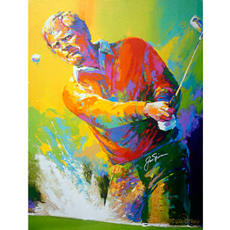 Jack Nicklaus Autographed Lithograph