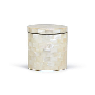 Labrazel White Agate Canister