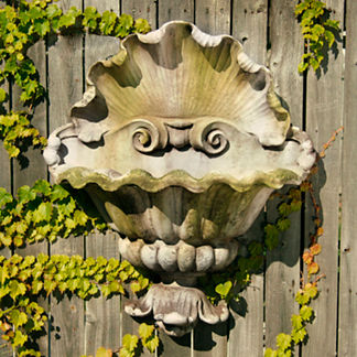 Shell Opera Outdoor Planter