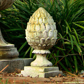 Artichoke Finial Outdoor Statue
