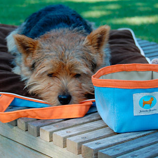 Jennifer Brooks Travel Tote Pet Bed