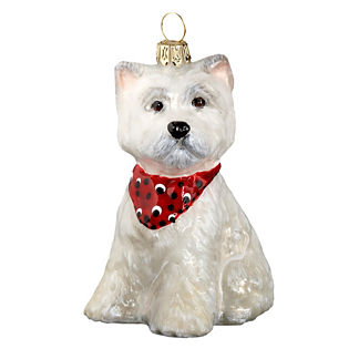 West Highland Terrier Puppy Ornament