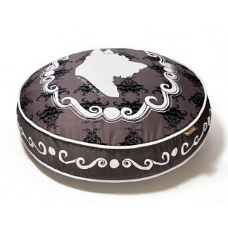 Round Cameo Pet Bed