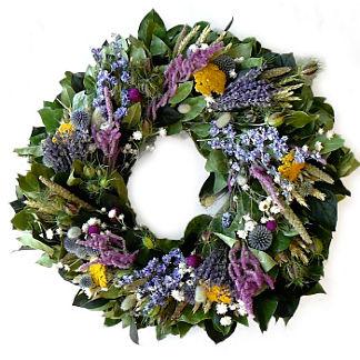 Love in the Mist Spring Indoor/Outdoor Wreath