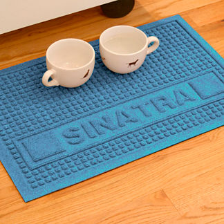 Water & Dirt Shield Personalized Squares Pet Mat
