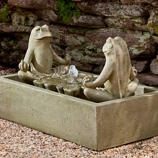 Zen Frog Fountain