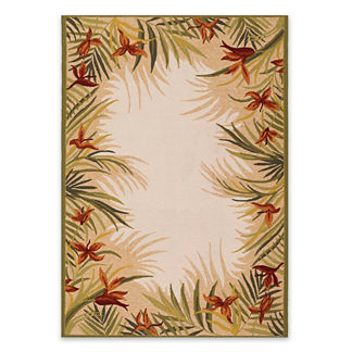 Tropical Palm Outdoor Rug