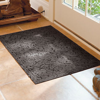 Low-profile Scroll Trellis Mat
