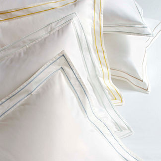 Resort Embroidered Stripe 600 Thread Count Sham