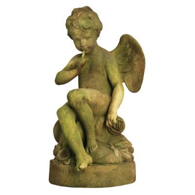 Outdoor Golf Statues Cupid Garden Outdoor Statue