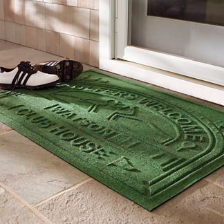 Water & Dirt Shield Personalized Golf Country Club Mat