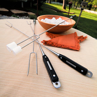 Set of Four Fire Pit Roasting Tools